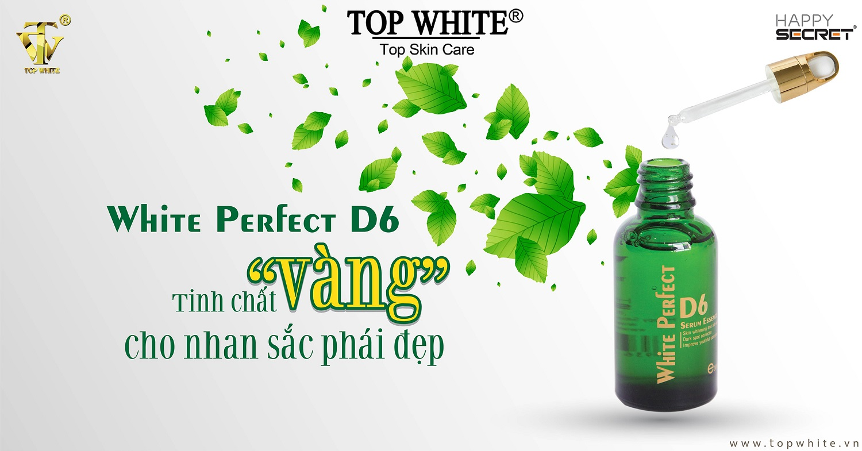 serum dưỡng da Top White D6