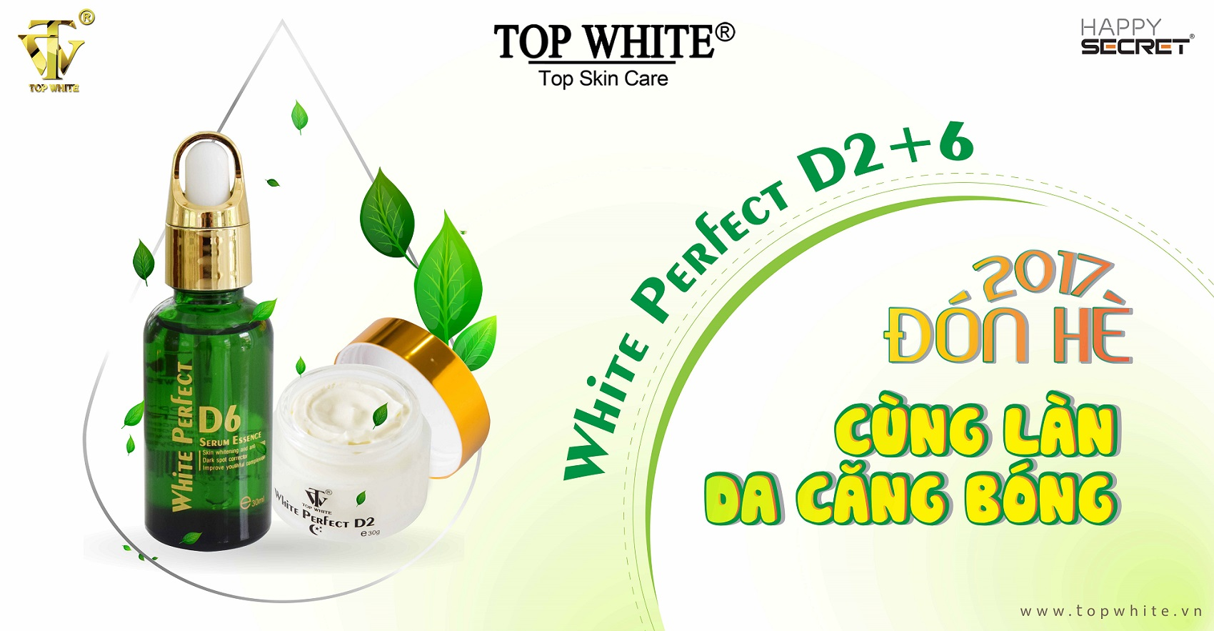 kem top white d2 kem dưỡng ban đêm