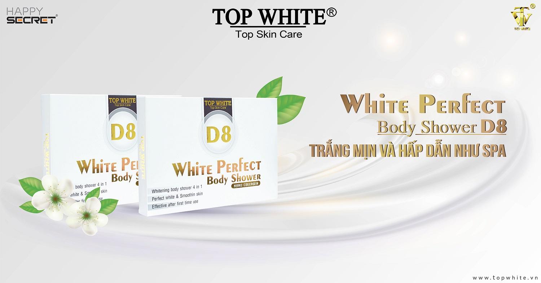 top white d8 kem tắm trắng hiệu quả