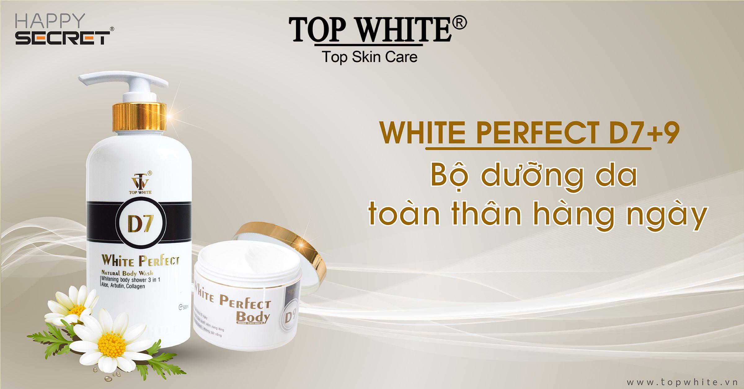 top white d7 d9 dưỡng trắng toàn thân