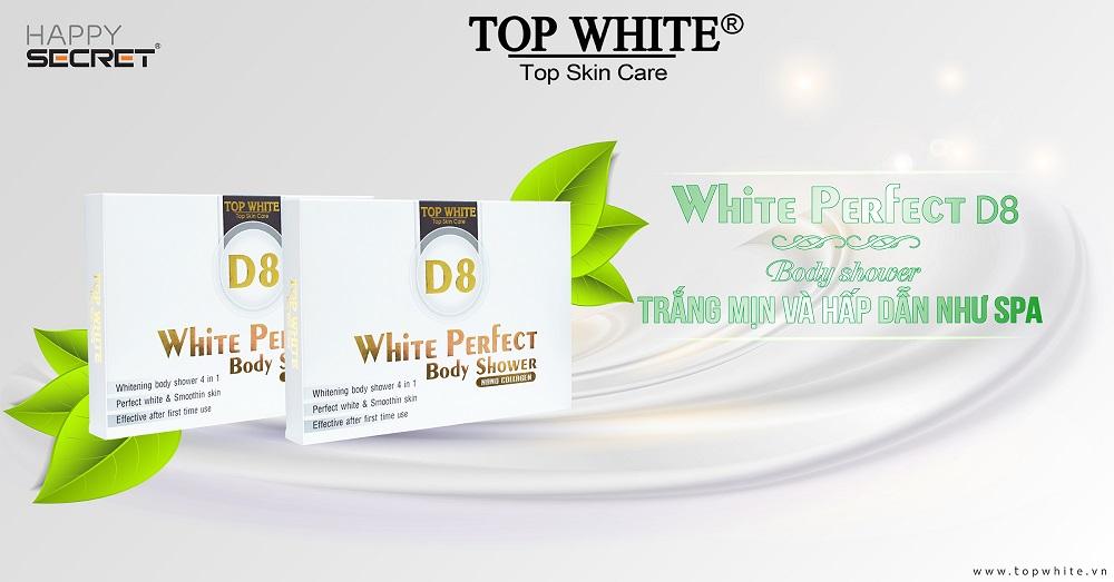 mã vạch 8936097440080 -kem tắm trắng da white perfect d8 top white