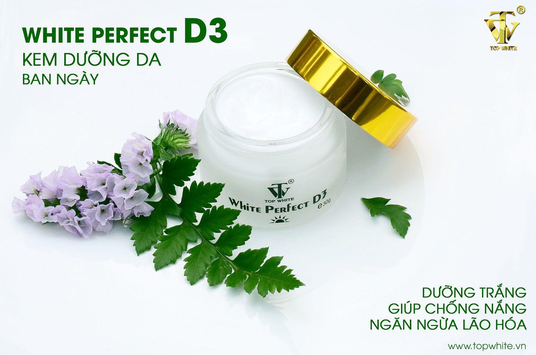 kem dưỡng trắng da ban ngàyWhite Perfect D3
