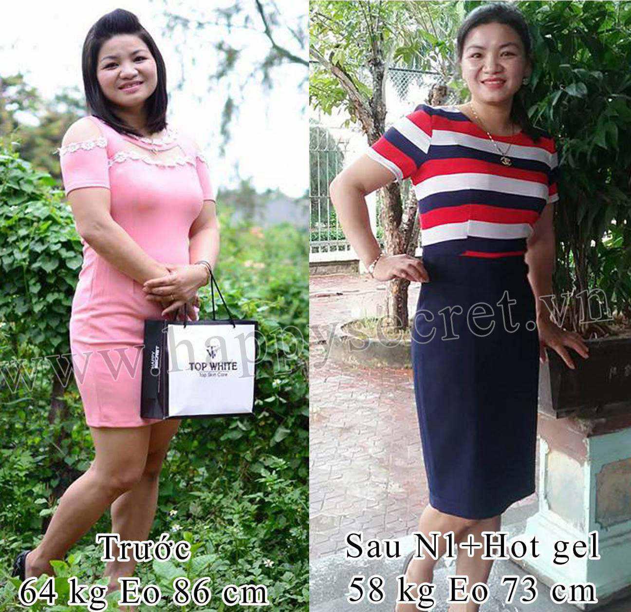 giảm cân sau sinh top white