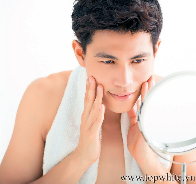 cách chăm sóc da mặt hàng ngày cho nam