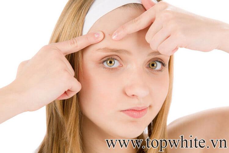 cách chăm sóc da mặt mụn và nhờn an toàn