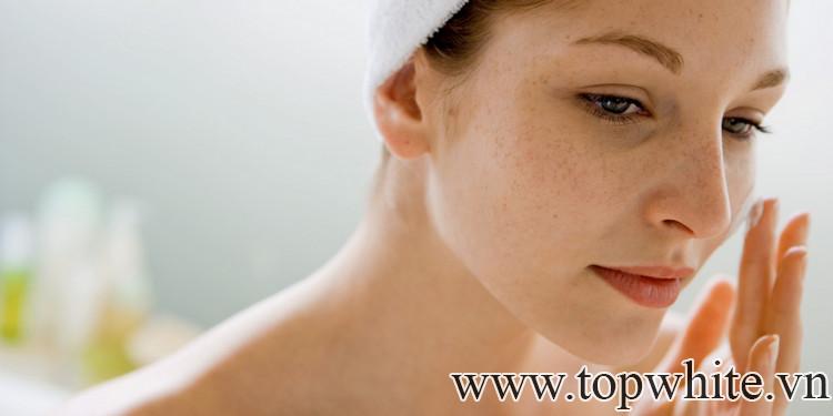 cách trị thâm nám trên da mặt