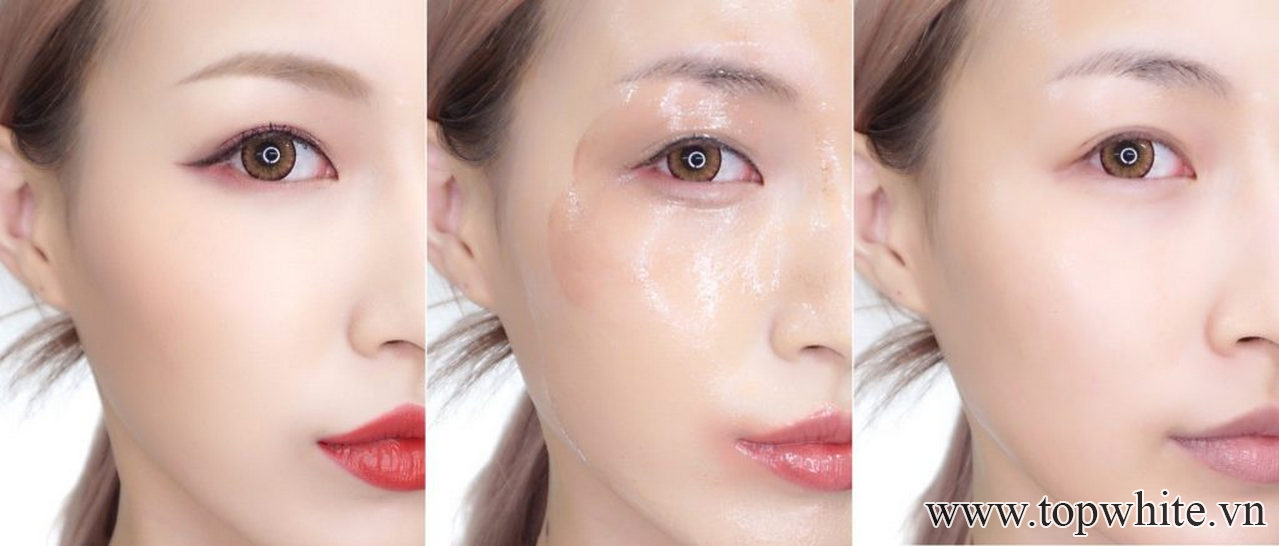 dầu tẩy trang top white sexy skin cleansing oil danh cho da tổng hợp