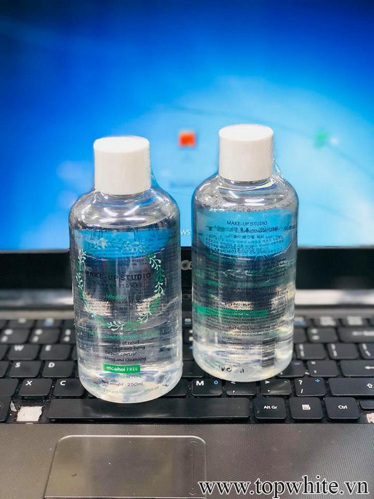 Nước tẩy trang nào không có cồn nhưng hiệu quả tốt nhất