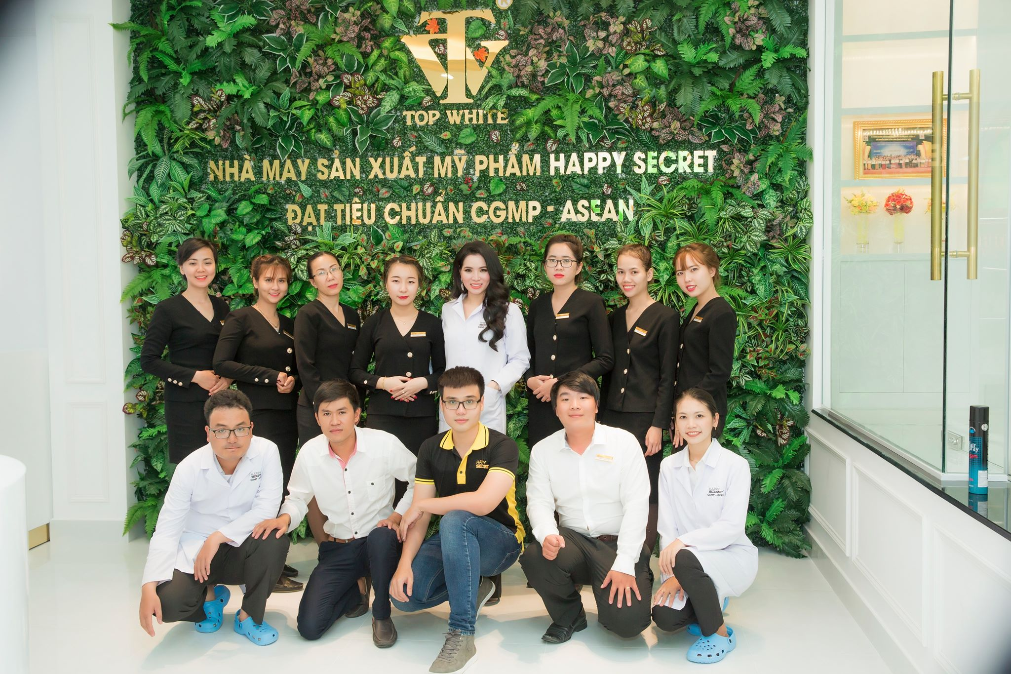 Nhà máy Happy Secret đẩy mạnh sản xuất đáp ứng nhu cầu ngày càng cao của phái đẹp